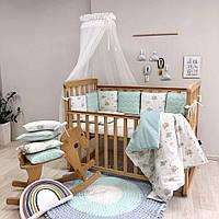 Постельный комплект Baby Design, Радуги