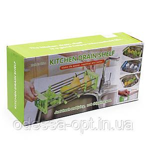 Сушилка для посуды ,многофункциональная, складная, кухонная полка kitchen drain shelf, фото 2