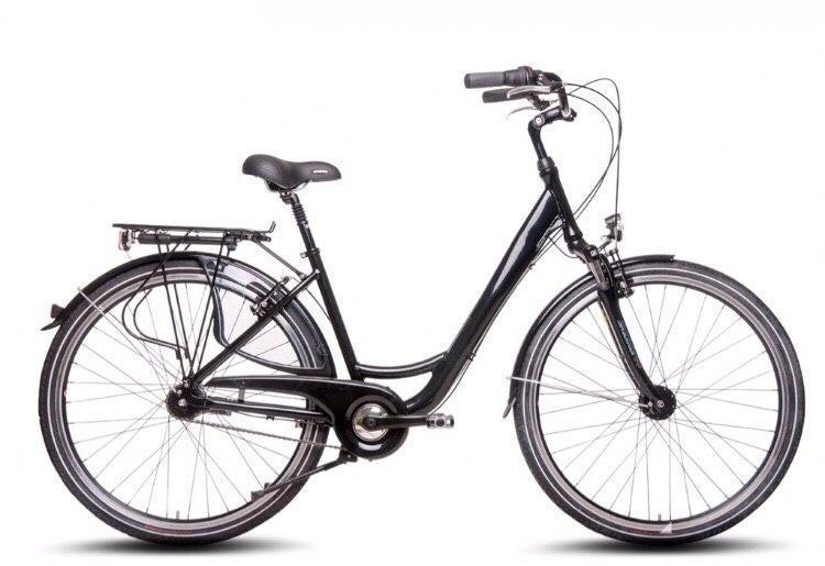 Велосипед міський Curtis City Bike 28 Nexus 7 Schwarz Німеччина