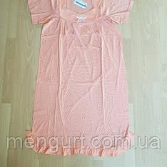 Женская сорочка с коротким рукавом