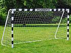 Футбольні ворота Hudora 300x160x90 см + сітка Німеччина, фото 3