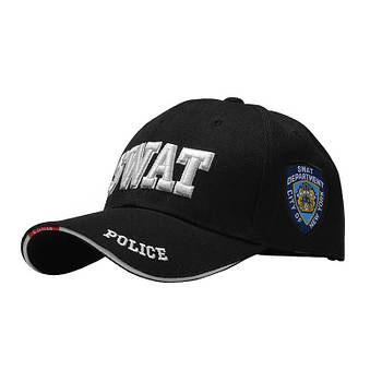 Бейсболка Han-Wild 101 SWAT Black для мужчин спортивная модная кепка