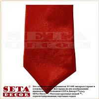 Красный галстук классика тонкий 5 см.
