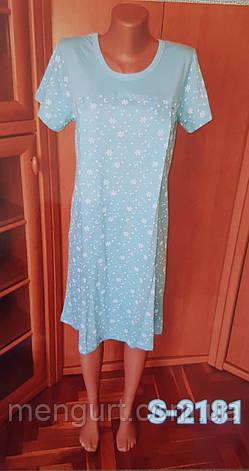 Женская ночная рубашка с коротким рукавом, фото 2