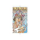 Art Nouveau Tarot Grand Trumps/ Таро Галерея (Старшие Арканы), фото 3
