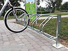 Велопарковка на 5 велосипедів Echo-5 Pion Польща, фото 2