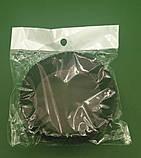 """Тартолетка для кексов  """"Круглая коричневая""""D71 H22 (100шт)/9/ (1 уп.), фото 3"""
