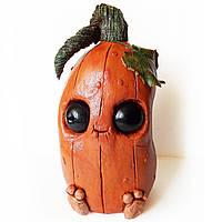 Бутылка в форме тыквы Декор на Хэллоуин Halloween party Ручная работа, фото 1
