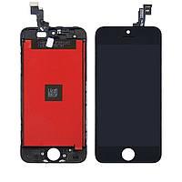 Дисплей (lcd экран) для Apple iPhone SE с чёрным тачскрином HC