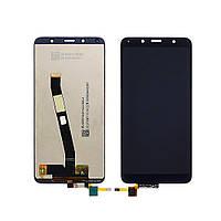 Дисплей (экран) для XIAOMI Redmi 7A с чёрным тачскрином