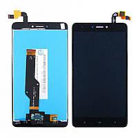 Дисплей (lcd экран) для Xiaomi Redmi Note 4X с чёрным тачскрином