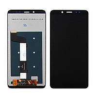 Дисплей (экран) для XIAOMI Redmi Note 5/Note 5 Pro с чёрным тачскрином