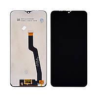 Дисплей (lcd экран) для Samsung A105 Galaxy A10 (2019) с чёрным тачскрином, с регулируемой подсветкой