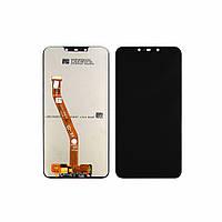 Дисплей (lcd экран) для Huawei P Smart Plus (2018) с чёрным тачскрином