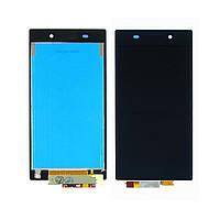 Дисплей (lcd экран) для Sony C6902/Xperia Z1 с чёрным тачскрином