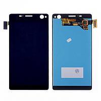 Дисплей (lcd экран) для Sony E5333 Xperia C4 Dual/E5343 Xperia C4 Dual/E5363 Xperia C4 Dual с чёрным