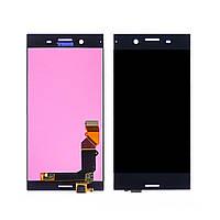 Дисплей для Sony G8142 Xperia XZ Premium с чёрным тачскрином