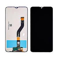 Дисплей для Samsung A107 Galaxy A10S (2019) с чёрным тачскрином, с регулируемой подсветкой