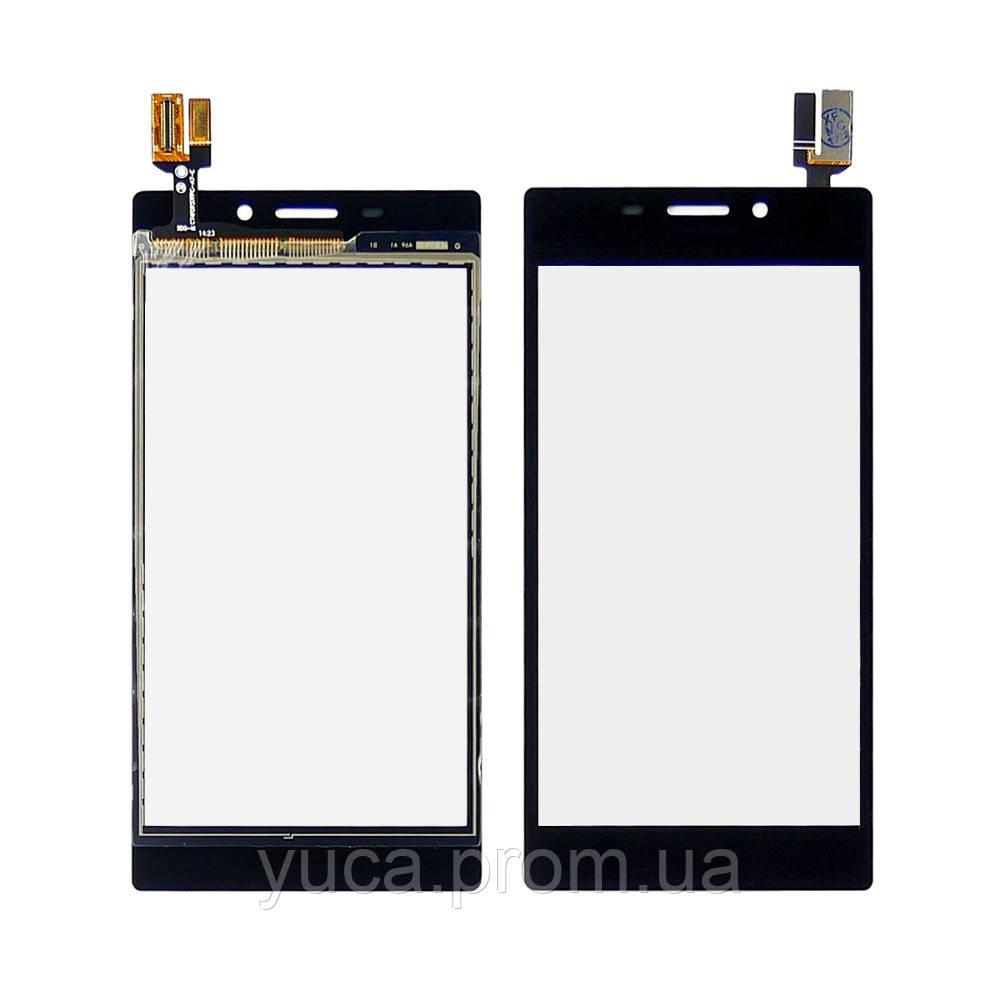 Тачскрин для Sony D2302 Xperia M2 Dual чёрный