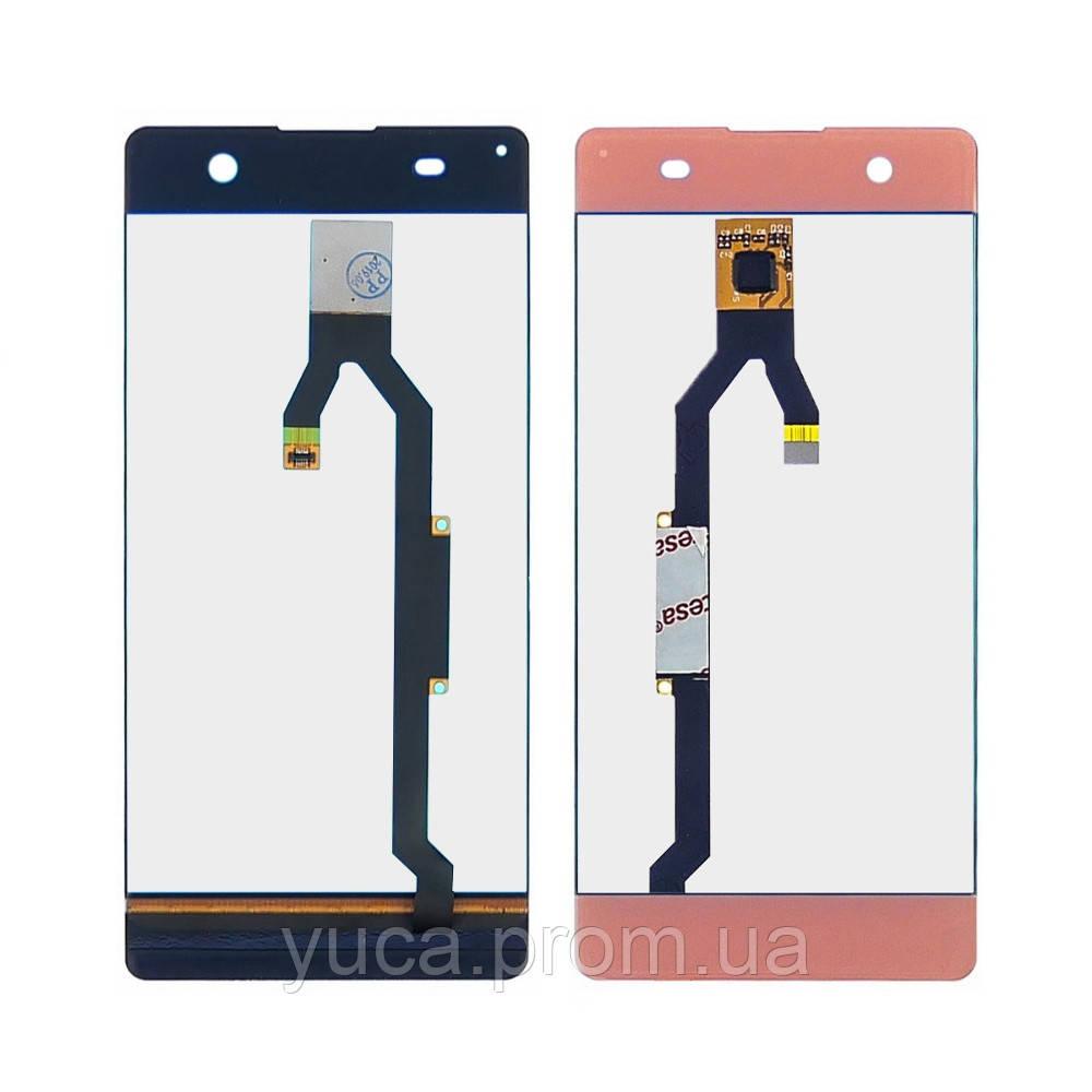 Тачскрин для Sony Xperia XA F3112/ F3113/ F3115 розовый