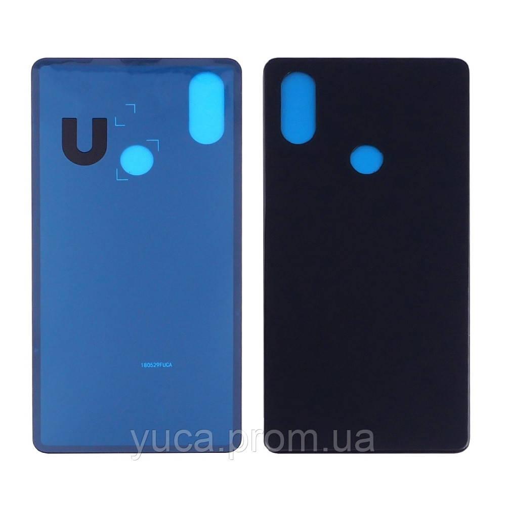 Заднее стекло корпуса для Xiaomi Mi 8 SE чёрное