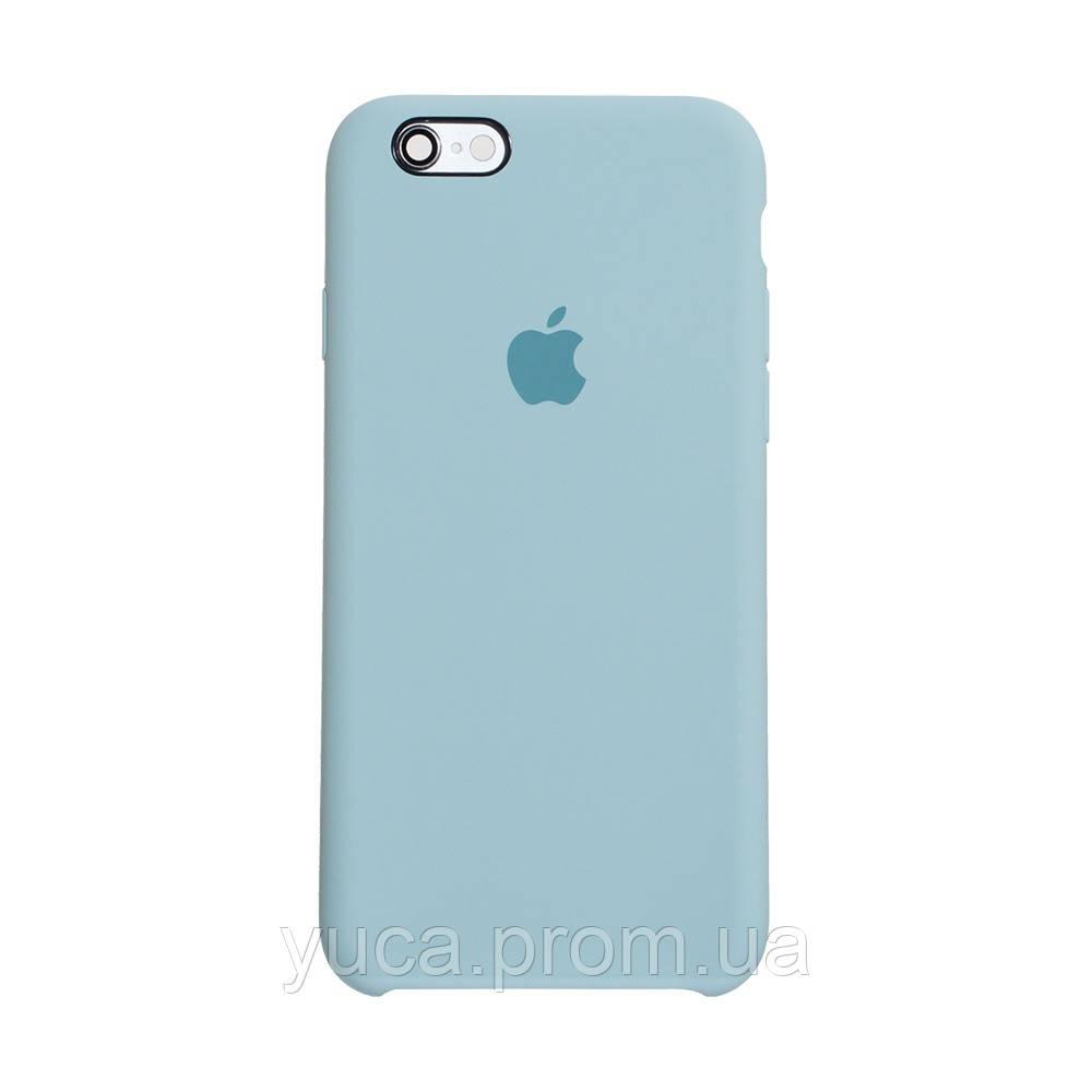 Чехол силиконовый для APPLE iPhone 6G 17 бирюзовый оригинал
