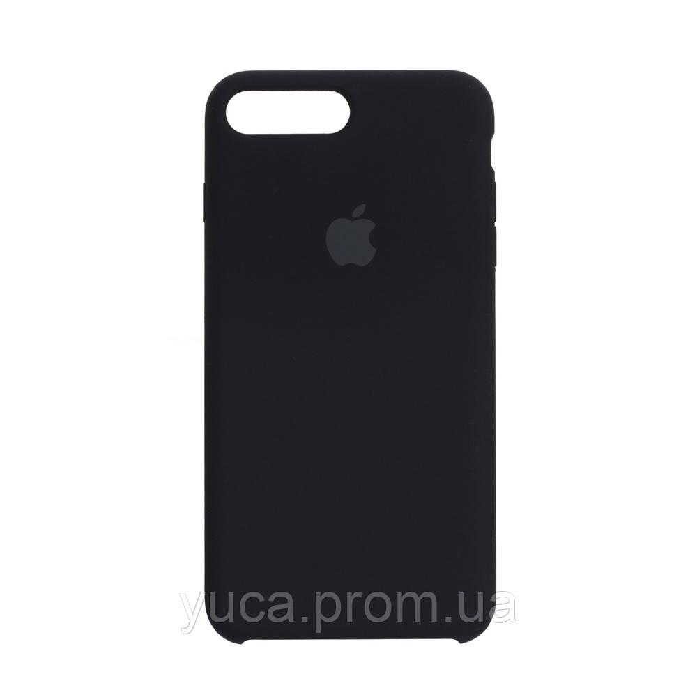 Чехол силиконовый для APPLE iPhone 8 Plus 08 чёрный оригинал