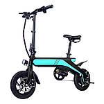 "Электровелосипед Nakxus SMART, чёрно-бирюзовый, колеса 12"", моторколесо 250W, аккумулятор 36V 8Ah (288Wh)"