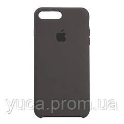 Чехол силиконовый для APPLE iPhone 7 Plus 35 тёмно серый копия