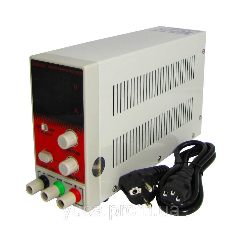 Блок питания ZHAOXIN MN-1003D, 100V, 3A, компактный, импульсный, с цифровой индикацией
