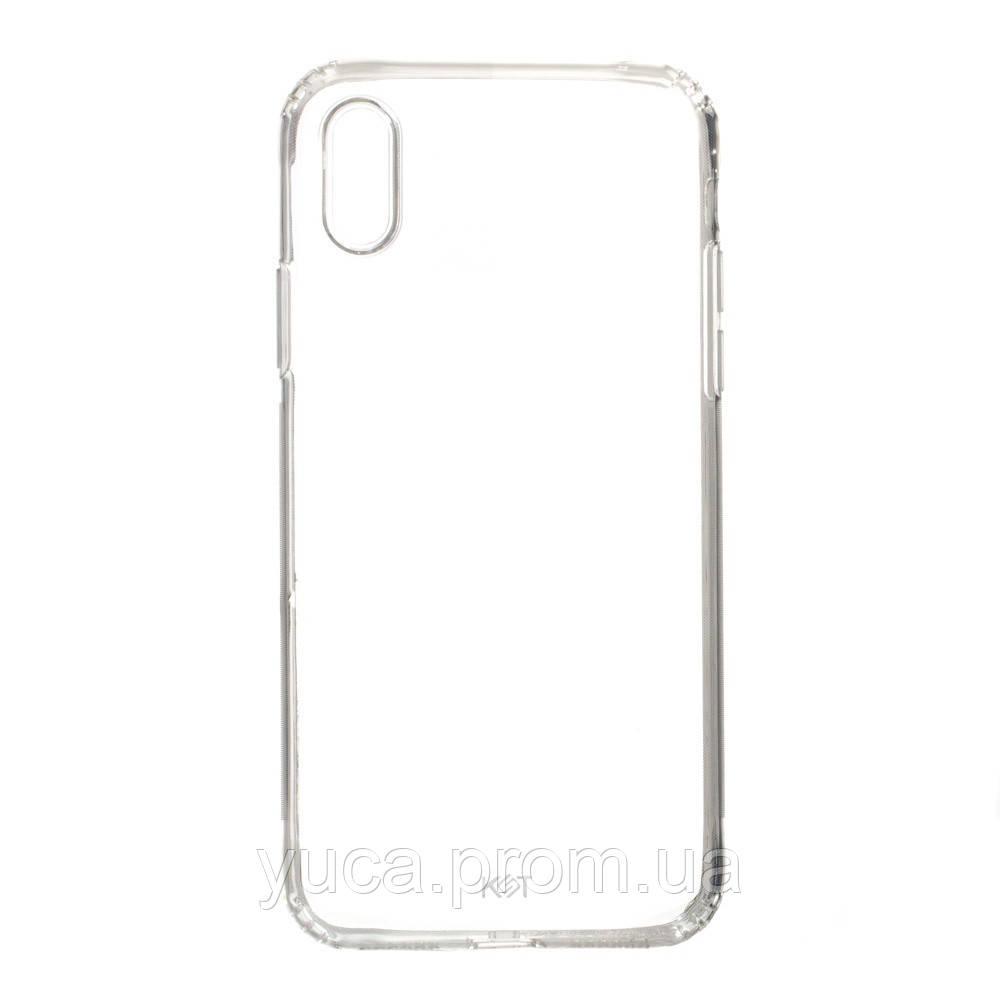 Чехол силиконовый для APPLE iPhone Xr KST прозрачный