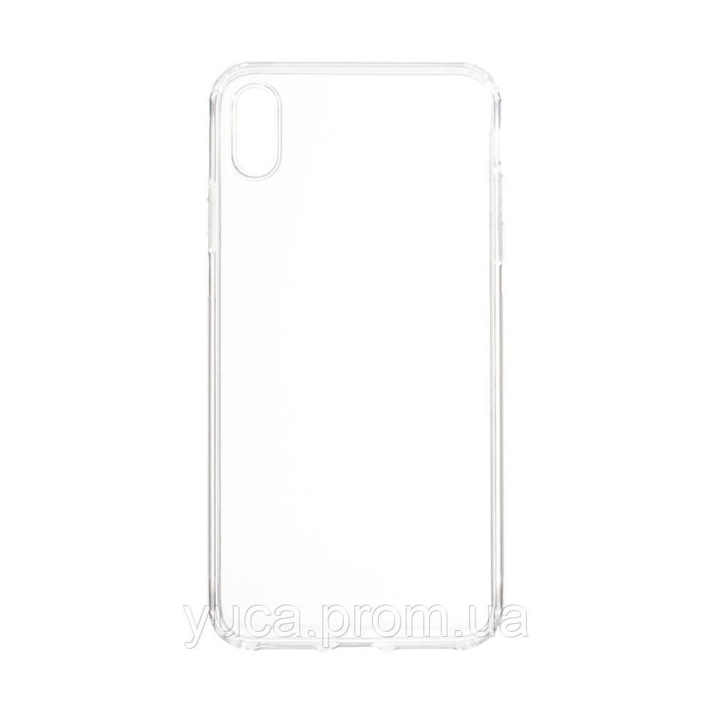 Чехол силиконовый для APPLE iPhone Xs Max KST прозрачный