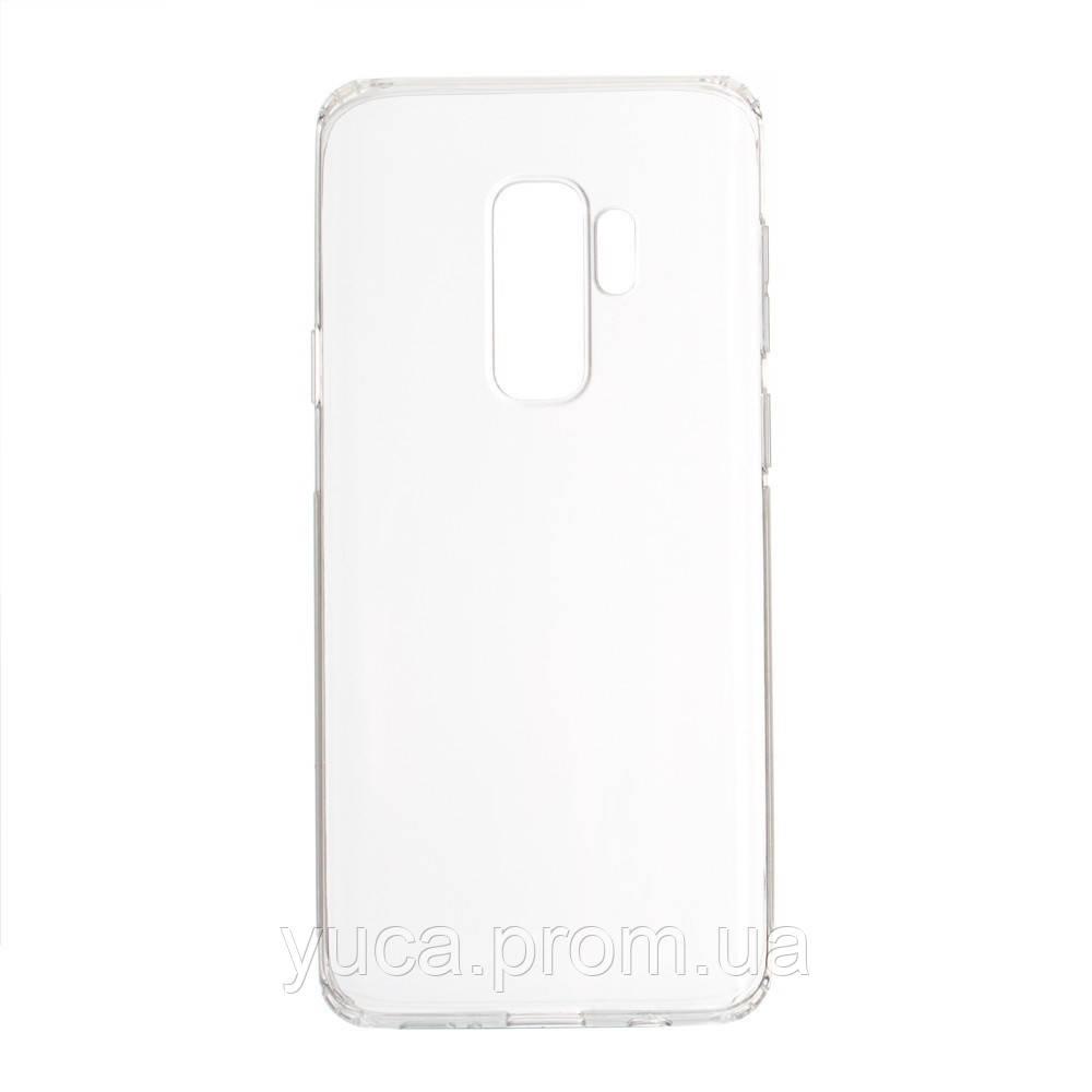 Чехол силиконовый для SAMSUNG S9 Plus KST прозрачный