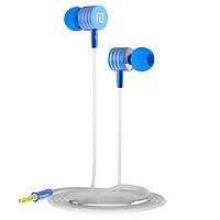 Гарнитура LANGSDOM I-7 Синяя вакуумная для занятий спортом