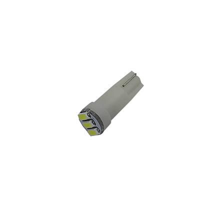 Лампа LED автолампа безцокольна T5, 0.17W, 12V (T5-WG-003W3014), фото 2