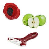 Овощерезка терка Mandoline Slicer 6 в 1 с контейнером для шинковки овощей фруктов, фото 4