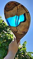 Дощечка з дерева та епоксидної смоли, фото 1