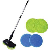 Швабра Super Maid аккумуляторная ручная для уборки чистки пола дома офиса беспроводная уборочная