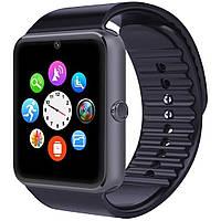 "Смарт-часы 1.54"" UWatch GT08 [GQ] Black цветной TFT экран диагнональ 1.54"" Блютуз 3.0 батарея 380 мАч"