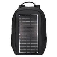 Рюкзак Eceen ECE-681S Black солнечная панель USB порт дышащая ткань сумка-антивор для туристов