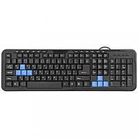 Компьютерная клавиатура DEFENDER 1 HM-430 USB Black проводная мембранная для ПК