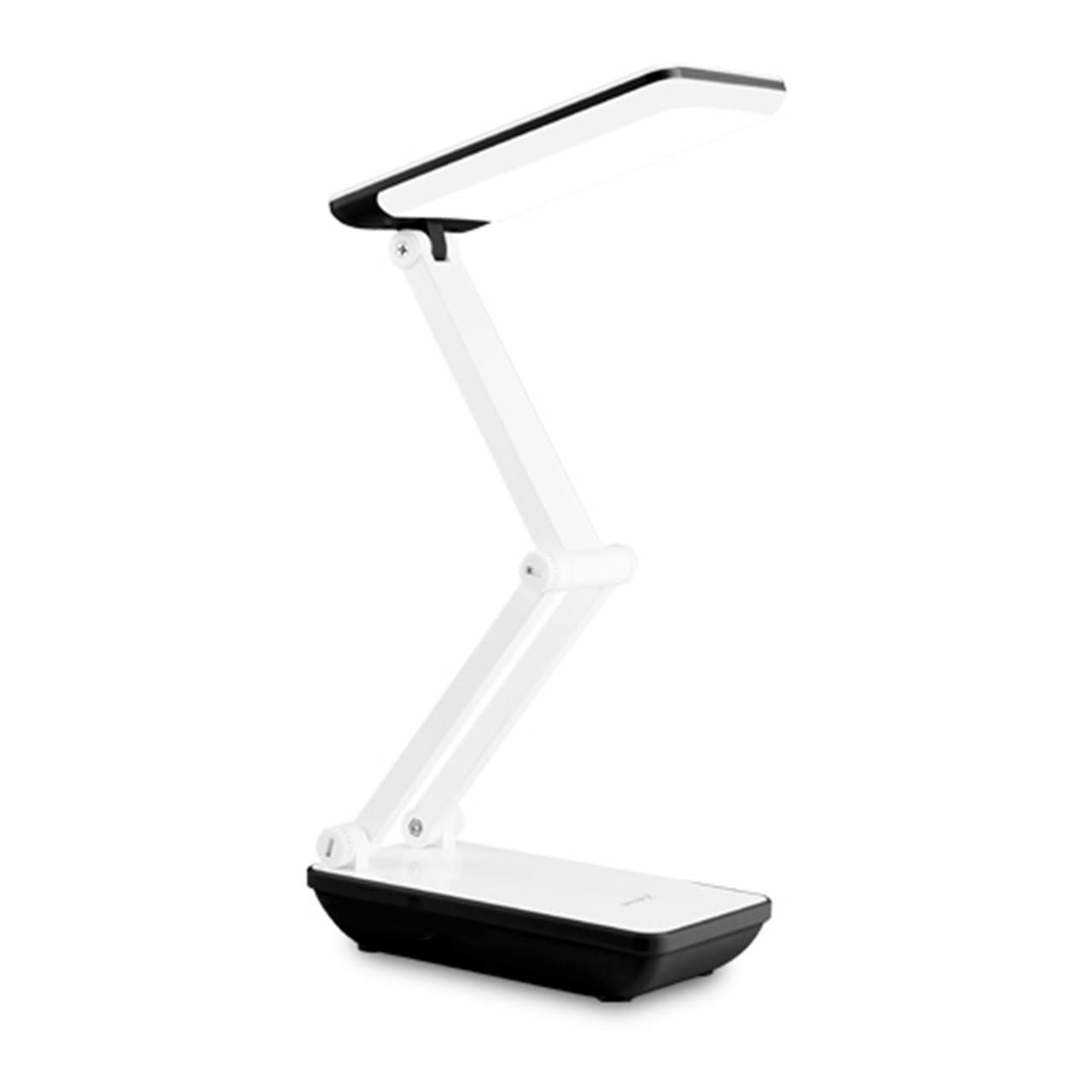 Настольная светодиодная лампа YAGE YG-5951 White аккумулятор 1200 мАч гибкая настольная для офиса дома