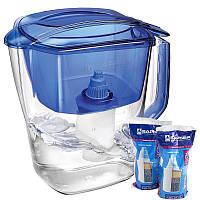 Фильтр-кувшин для воды БАРЬЕР Гранд + 2 картриджа