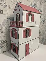 Деревянный кукольный дом, Домик для кукол Барби, Лол, Ляльковий будинок LOL