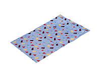 Охлаждающий коврик лежак для собак L 90х50см