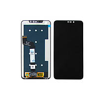 Дисплей для Xiaomi Redmi Note 6 Pro с чёрным тачскрином