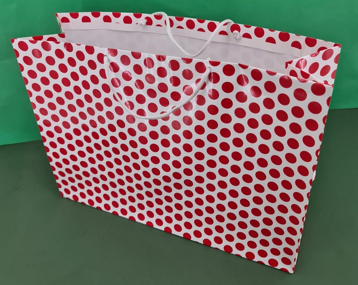 Бумажный пакет горизонтальный гигант 46*33*15 (артGG-011) (12 шт)