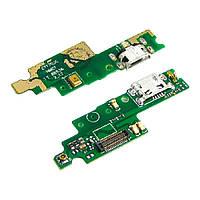 Разъём зарядки для XIAOMI Redmi 4x на плате с микрофоном и компонентами (ID:13220)