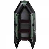 Моторная лодка Aqua Star с реечным настилом D-275FSD (зеленая)
