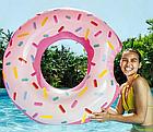 Надувной круг-тюбинг Intex 56265 Розовый пончик, фото 2